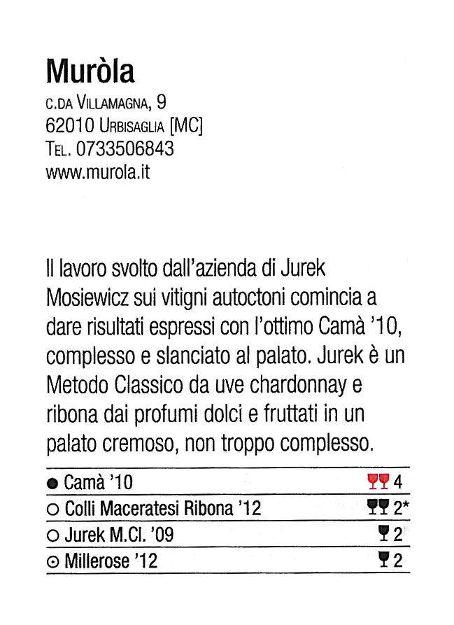 recensione vini gambero rosso 2014